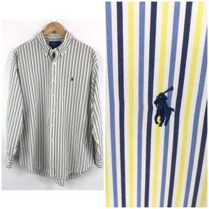Ralph Lauren Blake Striped Button Down Shirt